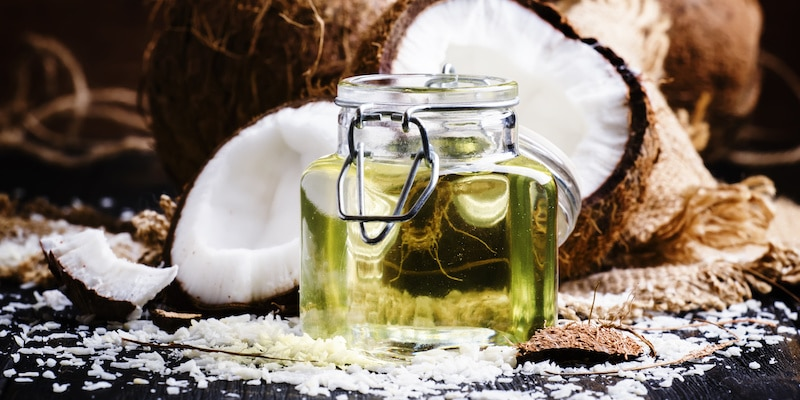 Coconut Oil Natural Home Remedy for Dog Shedding